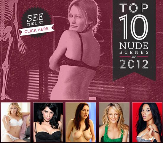 Top 10 Nude Scenes of 2012