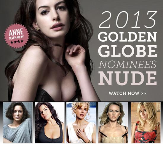 2013 Golden Globe Nominees Nude