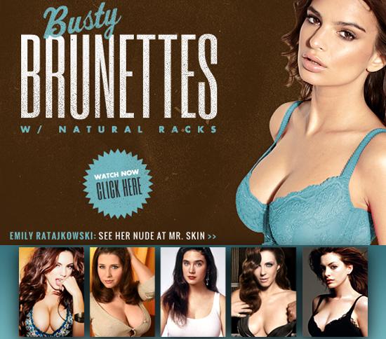 Busty Brunettes at Mrskin