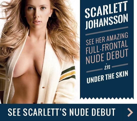 Scarlette Johansson Nude Debut