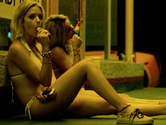 Ashley Benson underwear in Spring Breakers