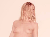 Elle Evans nude in Blurred Lines