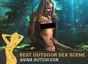 Anna Hutchison in The Cablin in the Woods