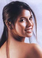 Clarissa Mercado Naked Red Beach Bikini Girl Mobile Wallpaper