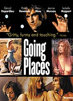 Brigitte Fossey as Woman in the train in Going Places
