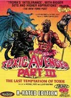 Phoebe Legere as Claire in The Toxic Avenger Part III