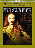 Cate Blanchett as Elizabeth I in Elizabeth