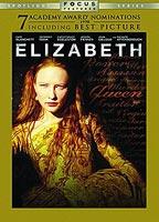 Cate Blanchett as Elizabeth I in Elizabeth