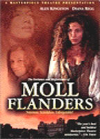 Alex Kingston as Moll Flanders in The Fortunes and Misfortunes of Moll Flanders