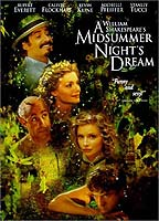 Calista Flockhart as Helena in A Midsummer Night's Dream