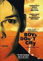 Hilary Swank as Teena Brandon / Brandon Teena in Boys Don't Cry