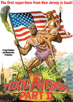 Phoebe Legere as Claire in The Toxic Avenger Part II