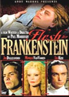 Flesh for Frankenstein boxcover
