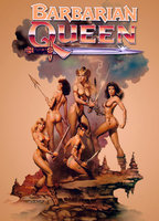 Katt Shea as Estrild in Barbarian Queen