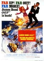 Diana Rigg as Tracy in On Her Majesty's Secret Service