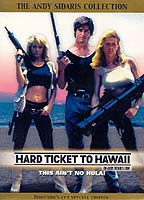Dona Speir as Donna Hamilton in Hard Ticket to Hawaii
