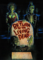 Linnea Quigley as Trash in The Return of the Living Dead