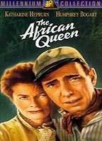 Katharine Hepburn as Rose Sayer in The African Queen