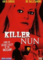 Anita Ekberg as Sister Gertrude in Killer Nun