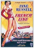 Jane Russell as Mary 'Mame' Carson in The French Line