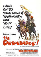 Sylvia Syms as Laura Galt in The Desperados