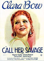 Clara Bow as Nasa 'Dynamite' Springer in Call Her Savage