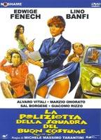 Edwige Fenech as Gianna D'Amico in La poliziotta della squadra del buoncostume