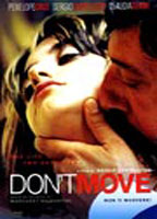 Claudia Gerini as Elsa in Don't Move