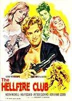 Adrienne Corri as Isobel in The Hellfire Club