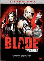 Jill Wagner as Krista Starr in Blade: The Series