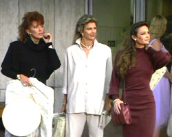 Mary Crosby as Karen Lancaster in Hollywood Wives