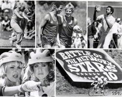 Randi Oakes as Herself in Battle of the Network Stars