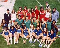 Erin Gray as Herself in Battle of the Network Stars