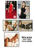Grace Park as Herself in Maxim Hot 100 '06