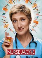 Betty Gilpin as Dr. Carrie Roman in Nurse Jackie