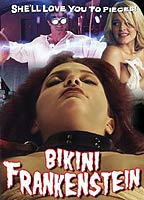 Brandin Rackley as Ingrid in Bikini Frankenstein