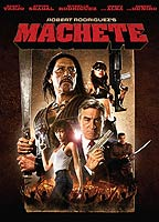 Lindsay Lohan as April Benz in Machete