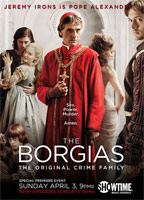 Holliday Grainger as Lucrezia Borgia in The Borgias
