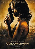 Zoe Saldana as Cataleya Restrepo in Colombiana