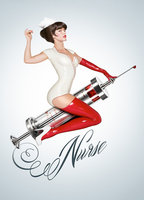 Katrina Bowden as Danni in Nurse 3D