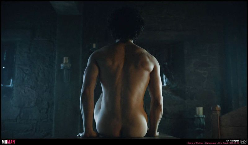 Kit Harington's bootay