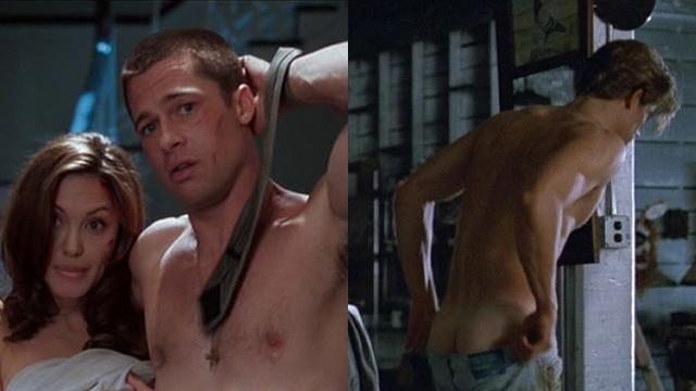 Brad Pitt Cover Nude