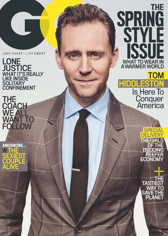 Tom Hiddleston GQ Cover