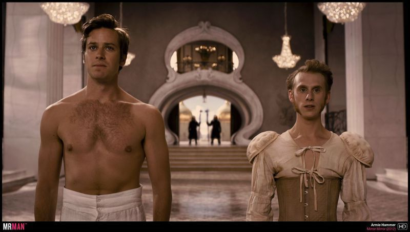 Armie Hammer shirtless