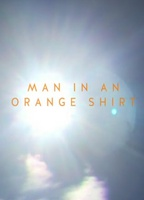 man in an orange shirt