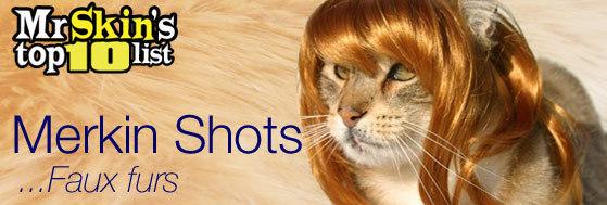 Merkin Shots ... Faux furs