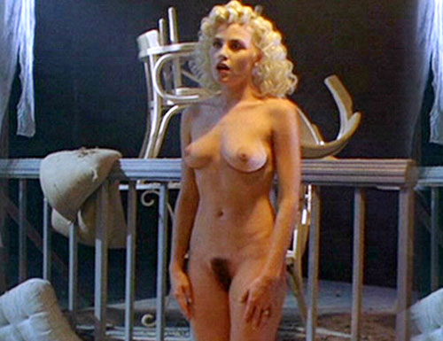 ... leaving the nudes to costar Sherilyn Fenn (Pic: 1, ...