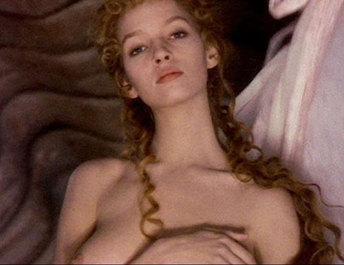 NUDE: Uma Thurman (right breast) (Picture: 1)