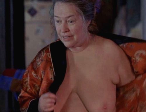 So I'm going to say Kathy Bates (Picture: 1 ...