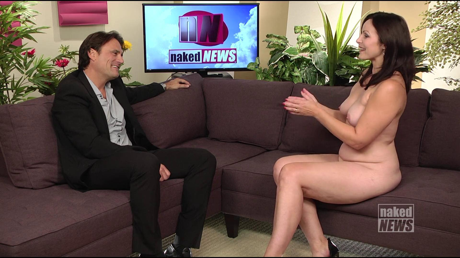 Naked News Interviews Mr. Skin! [VIDEO]